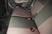 фото 8 - Чехлы MW Brothers Citroen C3 Picasso (2009-н.д.), светлые вставки + красная нить