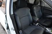 Фото 6 - Чехлы MW Brothers Mitsubishi Outlander XL (2006-2012), серая нить