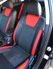 MW Brothers Mitsubishi Lancer X 1,5L (2007-2011), красные вставки + красная нить