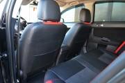 Фото 6 - Чехлы MW Brothers Mitsubishi Lancer X 1,5L (2007-2011), красные вставки + красная нить