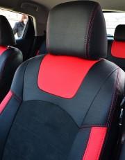 MW Brothers Nissan Juke (2011-н.д.), красные вставки + красная нить