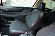 Фото 2 - Чехлы MW Brothers Citroen C4 3D (2004-2010), красная нить