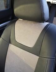 MW Brothers Nissan X-Trail T31, SE, XE (2007-2013), светлые вставки + серая нить