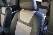 Фото 3 - Чехлы MW Brothers Nissan X-Trail T31, SE, XE (2007-2013), светлые вставки + серая нить