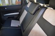 Фото 5 - Чехлы MW Brothers Nissan X-Trail T31, SE, XE (2007-2013), светлые вставки + серая нить
