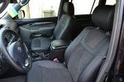 Фото 8 - Чехлы MW Brothers Toyota Land Cruiser Prado 120 (2002-2009), серая нить