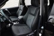 Фото 2 - Чехлы MW Brothers Toyota Land Cruiser Prado 150 араб - 7 мест (2009-н.д.), серая нить