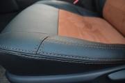Фото 2 - Чехлы MW Brothers Toyota Camry XV 50/55 (2011-2017), коричневая алькантара+коричневая нить