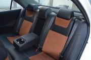 Фото 4 - Чехлы MW Brothers Toyota Camry XV 50/55 (2011-2017), коричневая алькантара+коричневая нить