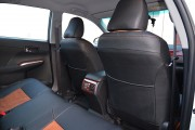 Фото 7 - Чехлы MW Brothers Toyota Camry XV 50/55 (2011-2017), коричневая алькантара+коричневая нить