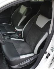 MW Brothers Toyota Corolla (E150) (2007-2013), светлые вставки + серая нить