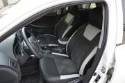 Фото 2 - Чехлы MW Brothers Toyota Corolla (E150) (2007-2013), светлые вставки + серая нить