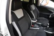 Фото 7 - Чехлы MW Brothers Toyota Corolla (E150) (2007-2013), светлые вставки + серая нить