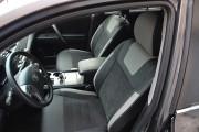 Фото 5 - Чехлы MW Brothers Toyota Highlander II (2008-2013), светлые вставки + серая нить