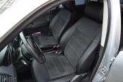 Фото 2 - Чехлы MW Brothers Volkswagen Polo IV (4C) (2001-2009), серая нить