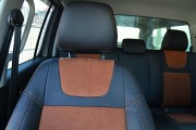 Фото 4 - Чехлы MW Brothers Volkswagen Amarok (2009-н.д.), коричневая алькантара + коричневая нить