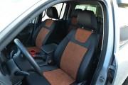 Фото 5 - Чехлы MW Brothers Volkswagen Amarok (2009-н.д.), коричневая алькантара + коричневая нить