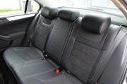 Фото 2 - Чехлы MW Brothers Volkswagen Jetta VI (2011-н.д) Trendline/Comfortline, серая нить