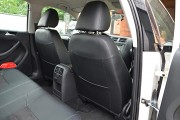 Фото 6 - Чехлы MW Brothers Volkswagen Jetta VI (2011-н.д) Trendline/Comfortline, серая нить