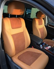 MW Brothers Volkswagen Touareg II Life, TDI (2011-2018), полностью бежевые