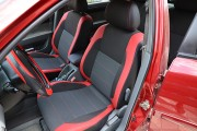 Фото 6 - Чехлы MW Brothers Daewoo Gentra (2013-н.д.), красные вставки+красная нить
