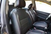Фото 4 - Чехлы MW Brothers Chevrolet Aveo T200 sedan (2002-2008), красная нить