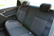 Фото 7 - Чехлы MW Brothers Chevrolet Aveo T200 sedan (2002-2008), красная нить