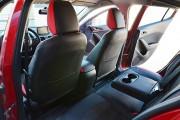 Фото 7 - Чехлы MW Brothers Mazda 3 III (2013-н.д.) красные вставки + красная нить