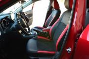 Фото 5 - Чехлы MW Brothers Mazda 3 III (2013-н.д.) красные вставки + красная нить