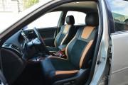 Фото 2 - Чехлы MW Brothers Toyota Camry XV 30/35 (2001-2006) оранж вставки + оранж нить