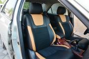 Фото 6 - Чехлы MW Brothers Toyota Camry XV 30/35 (2001-2006) оранж вставки + оранж нить