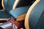 Фото 4 - Чехлы MW Brothers Toyota Camry XV 30/35 (2001-2006) оранж вставки + оранж нить