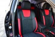 Фото 2 - Чехлы MW Brothers Mazda 3 I (2003-2009), красные вставки