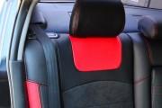 Фото 6 - Чехлы MW Brothers Mazda 3 I (2003-2009), красные вставки