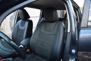 Фото 5 - Чехлы MW Brothers Nissan Leaf (2010-н.д.) серая нить