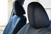Фото 7 - Чехлы MW Brothers Nissan Leaf (2010-н.д.) серая нить