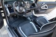 """'ото 4 - """"ехлы MW Brothers Mercedes-Benz Smart Fortwo II (451) (2007-2014), светлые вставки + сера¤ нить"""