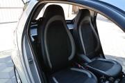 """'ото 7 - """"ехлы MW Brothers Mercedes-Benz Smart Fortwo II (451) (2007-2014), светлые вставки + сера¤ нить"""