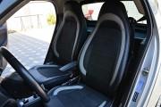 """'ото 8 - """"ехлы MW Brothers Mercedes-Benz Smart Fortwo II (451) (2007-2014), светлые вставки + сера¤ нить"""