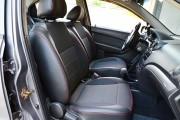 Фото 5 - Чехлы MW Brothers Chevrolet Aveo T250 Sedan (2002-2016), красная нить