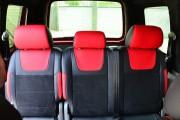 """'ото 2 - """"ехлы MW Brothers Volkswagen Caddy III (2004-2015), красные вставки + красна¤ нить"""