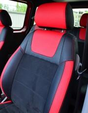 MW Brothers Volkswagen Caddy III (2004-2015), красные вставки + красна¤ нить