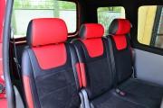 """'ото 4 - """"ехлы MW Brothers Volkswagen Caddy III (2004-2015), красные вставки + красна¤ нить"""