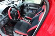 """'ото 7 - """"ехлы MW Brothers Volkswagen Caddy III (2004-2015), красные вставки + красна¤ нить"""