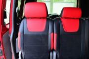 """'ото 3 - """"ехлы MW Brothers Volkswagen Caddy III (2004-2015), красные вставки + красна¤ нить"""
