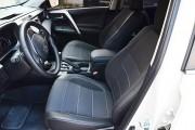 Фото 2 - Чехлы MW Brothers Toyota RAV4 IV (2013-2015), серая нить