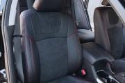 Фото 7 - Чехлы MW Brothers Honda Accord 9 (2013-н.д.), красная нить