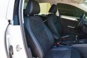 Фото 7 - Чехлы MW Brothers Volkswagen Jetta VI (2011-н.д) Trendline/Comfortline, синяя нить