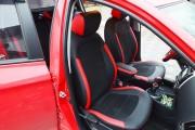 Фото 4 - Чехлы MW Brothers Hyundai I20 (2014-н.д.), красные вставки