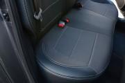 Фото 8 - Чехлы MW Brothers Hyundai Accent IV (Solaris) sedan (2011-2017), серая нить
